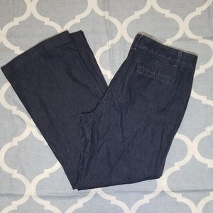 Ann Taylor Signature Jeans Womens dark wash Sz 12